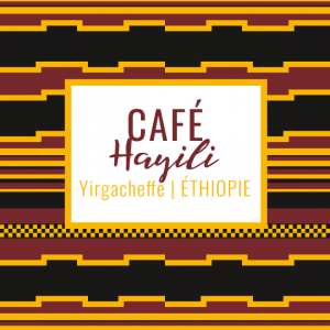 Café Hayili yirgacheffe ethiopie yellow peak café de spécialité