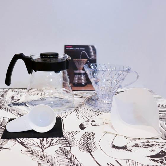 kit hario v60 slow coffee