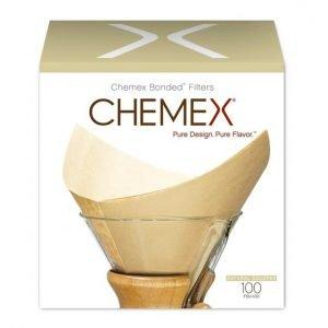 filtres chemex 6 tasses boite de 100