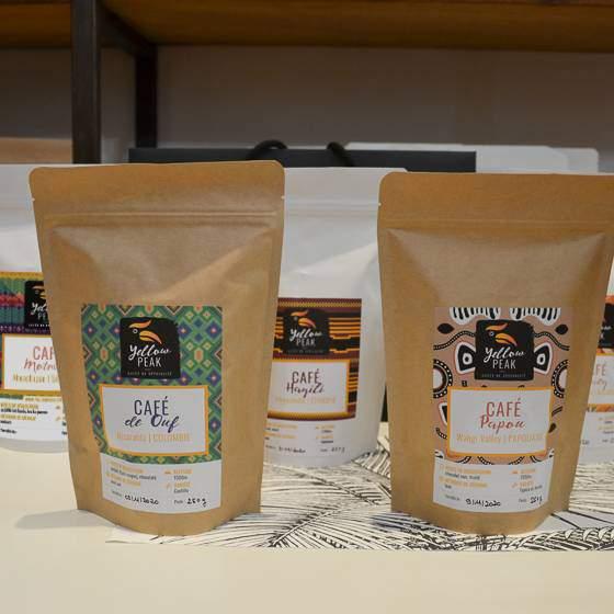 pack cadeau quintuor de cafés tour du monde
