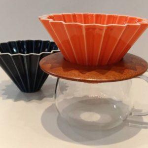 kit origami orange noir slow coffee yellow peak torréfacteur boutique cafés de spécialité Pau