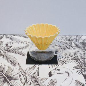 kit origami jaune slow coffee yellow peak torréfacteur boutique cafés de spécialité Pau