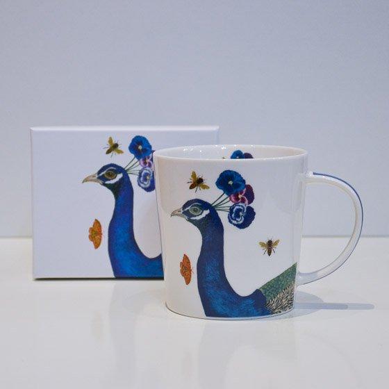 mug tasse original dessin de pan yellow peak torréfacteur de cafés de spécialité